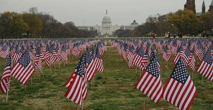 12000 Flags for 12000 Patriots