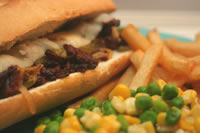 Seitan Philly Cheesesteak